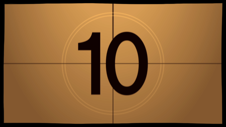 自作オープニングムービーに役立つ「カウントダウン映像素材」11選